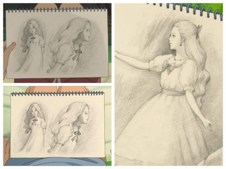 Anna dessine Marnie