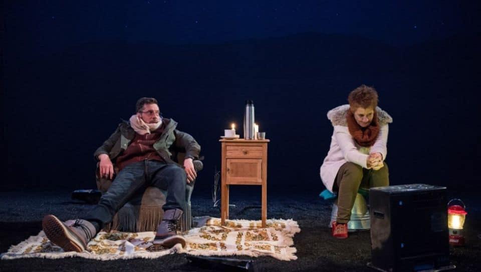 Adaptation française d'Une veillée de Gary Kirkham par Virginie Thirion. Copyright photo : Alice Piemme