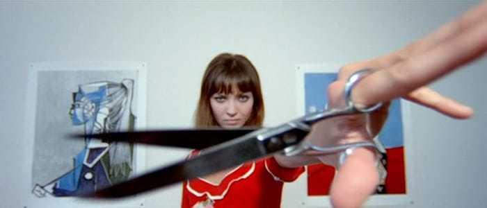 Anna Karina dans Pierrot le fou