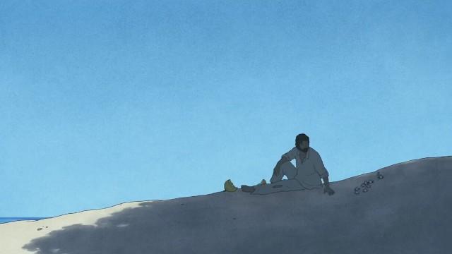 Les crabes dans le film d'animation La Tortue Rouge