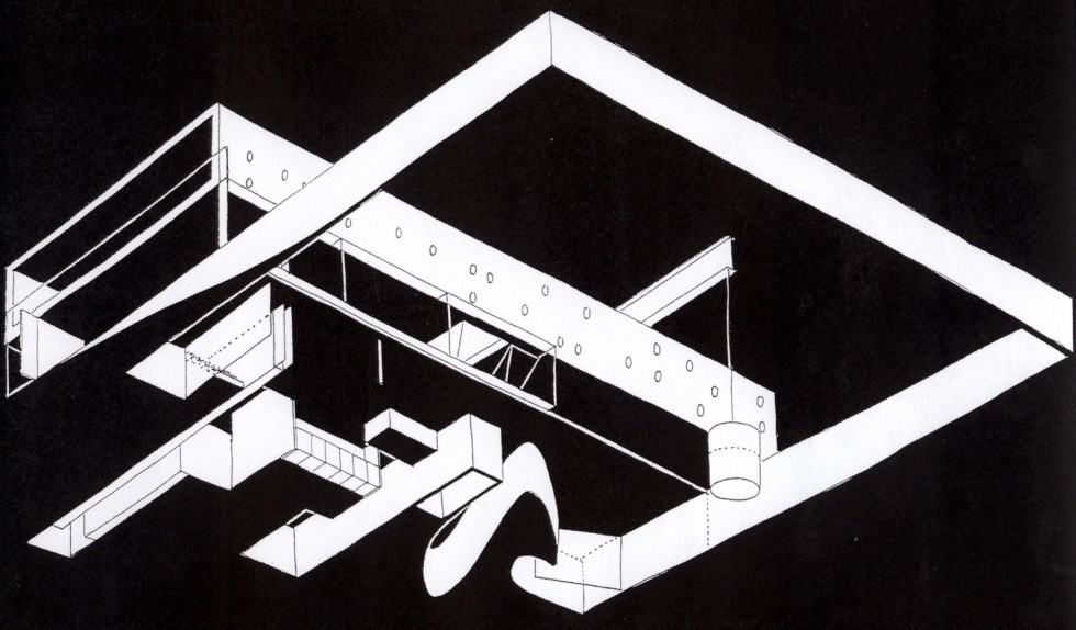 Maison à Bordeaux (OMA drawing)