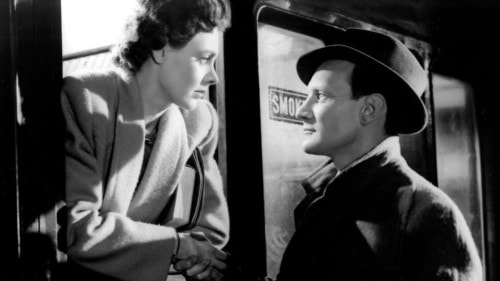 Celia Johnson et Trevor Howard dans Brief Encounter, un film de David Lean