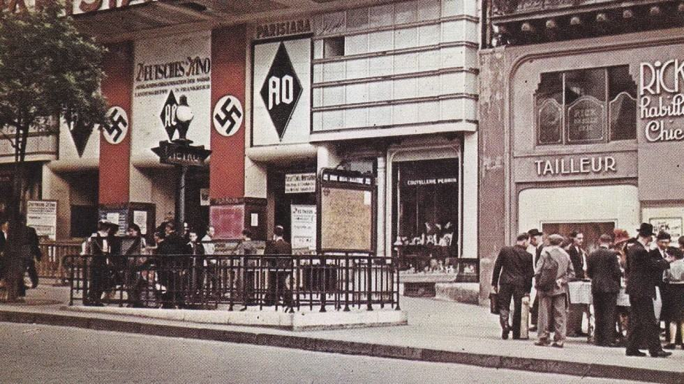 Le cinéma parisien sous l'occupation