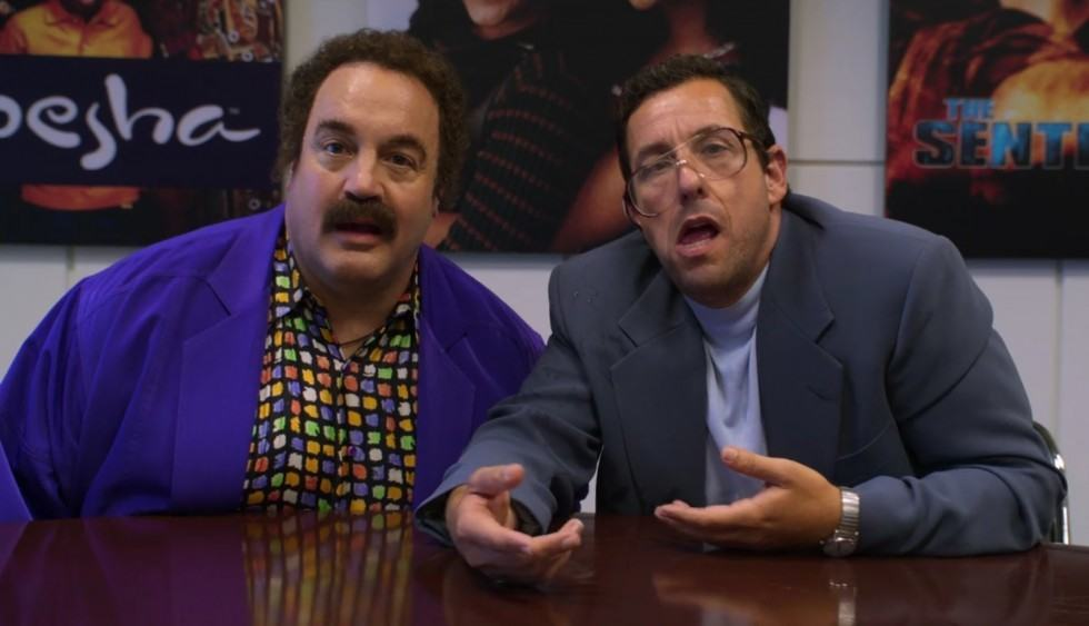Kevin James et Adam Sandler dans Sandy Wexler