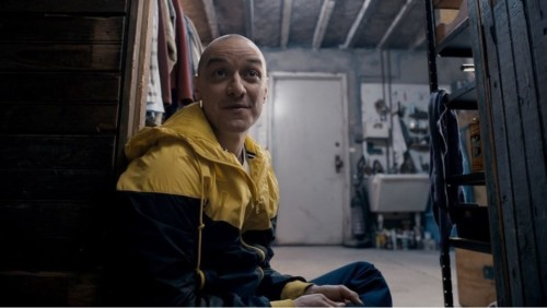 James McAvoy dans le film Split de M. Night Shyamalan