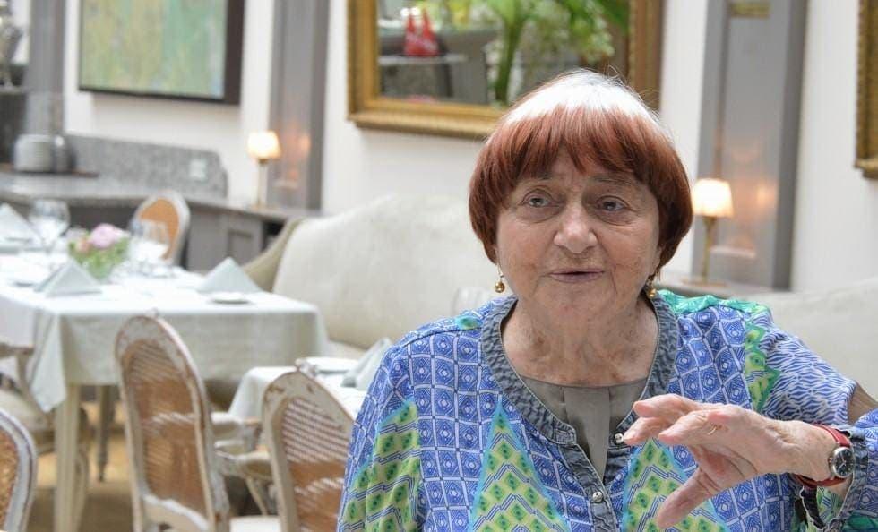Agnès Varda parle du film Visages, Villages, avec JR