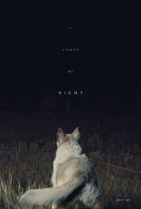 Le poster avec le chien du film It Comes At Night