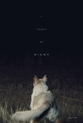 """Le poster avec le chien du film """"It Comes At Night"""""""