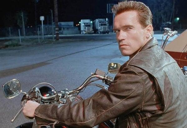 Arnold Schwarzenegger dans Terminator 2