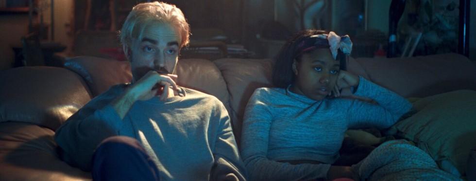 Robert Pattinson et Taliah Webster (Good Time, 2017)