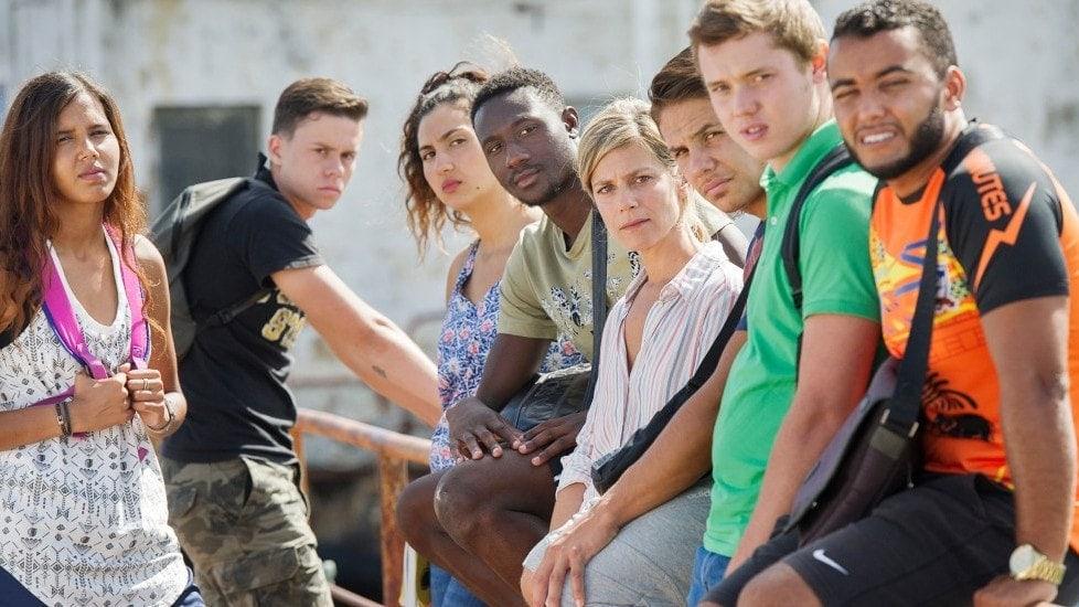 L'ensemble du casting de L'Atelier de Laurent Cantet