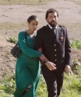 Nadia Kounda et Mouhcine Malzi dans Volubilis
