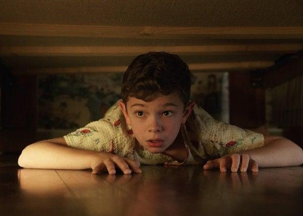 L'enfant dans Bienvenue à Suburbicon de George Clooney
