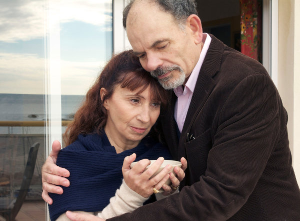 Ariane Ascaride et Jean-Pierre Darroussin dans La Villa