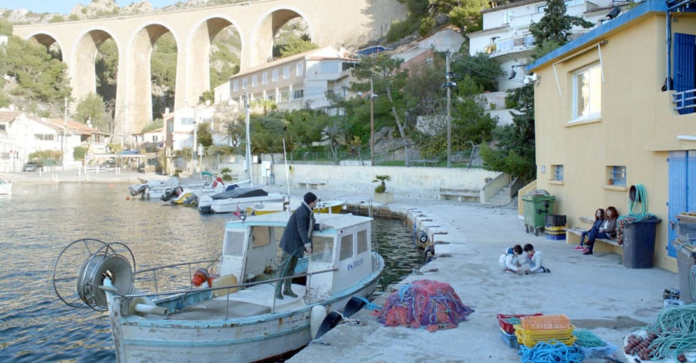 Le port dans le film La Villa