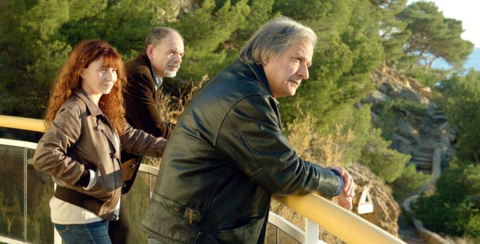 Ariane Ascaride, Darroussin et Meylan dans le film la Villa de Robert Guédiguian