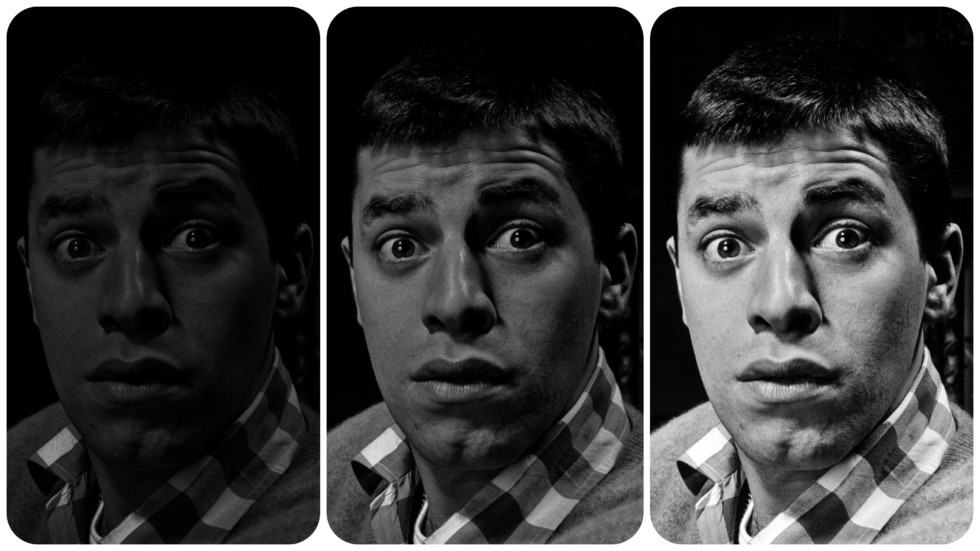 Jerry Lewis Portrait par Philippe Halsman, Magnum Photos
