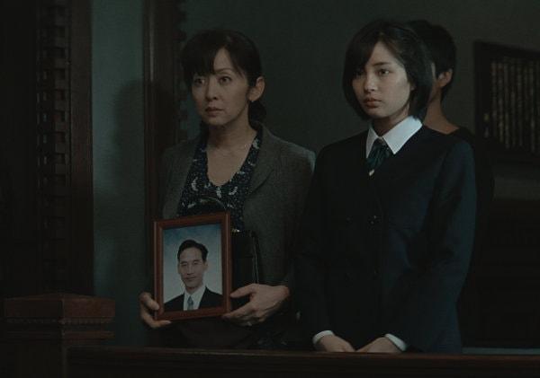 La mère et la fille dans The Third Murder de Kore-Eda