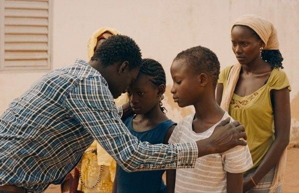 Amin et sa famille en Afrique