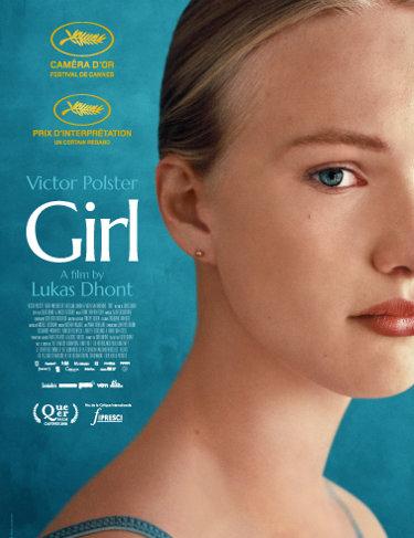 Le poster belge de Girl de Lukas Dhont