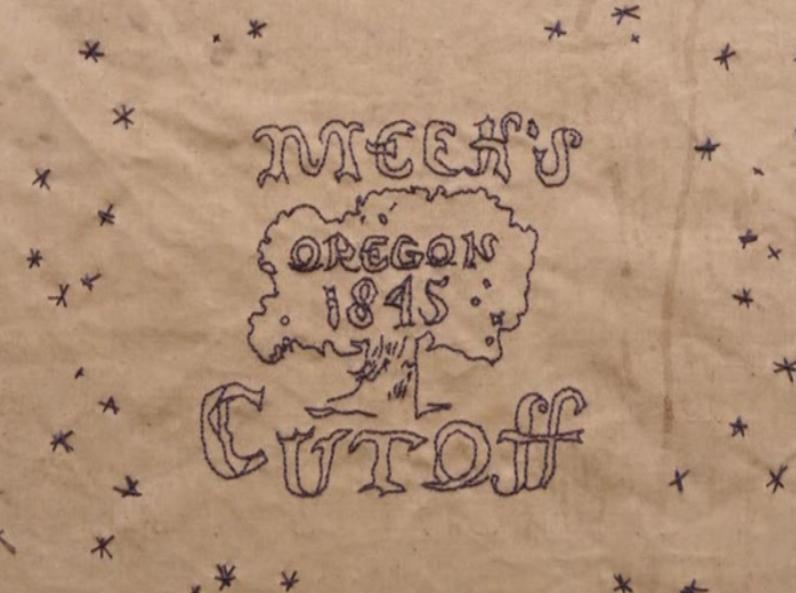 Dessin dans Meek's Cutoff