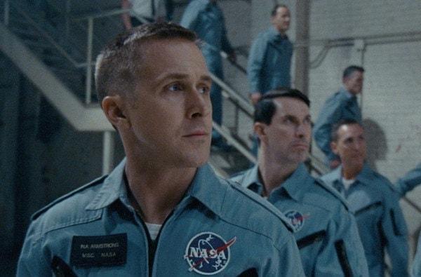 Ryan Gosling dans First Man film Chazelle