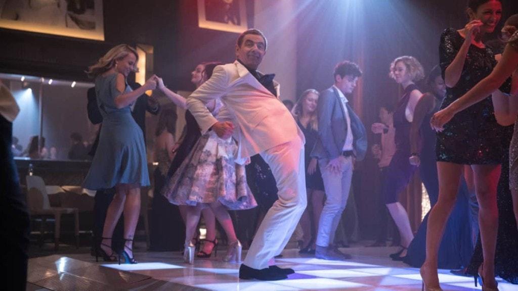 Rowan Atkinson sur la piste de danse dans Johnny English 3