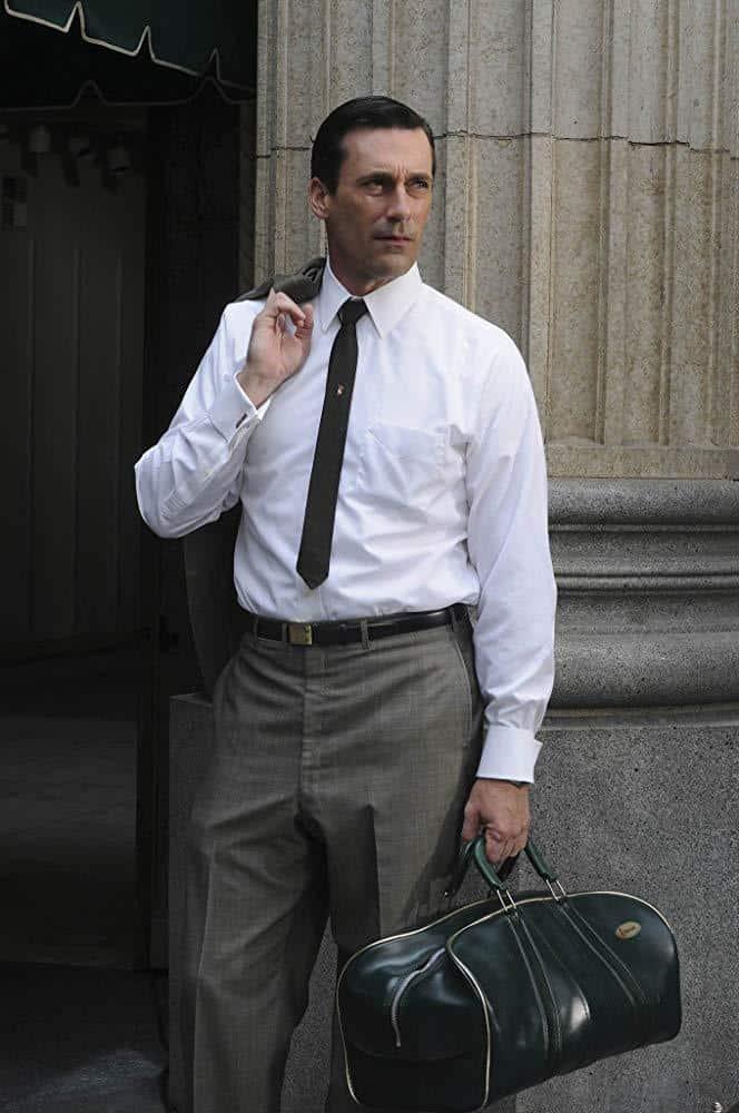 Jon Hamm dans l'épisode The Summer Man de Mad Men