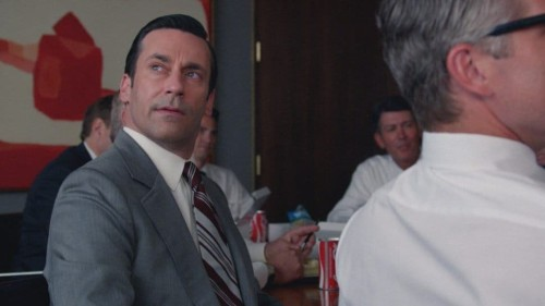 Jon Hamm dans Mad Men