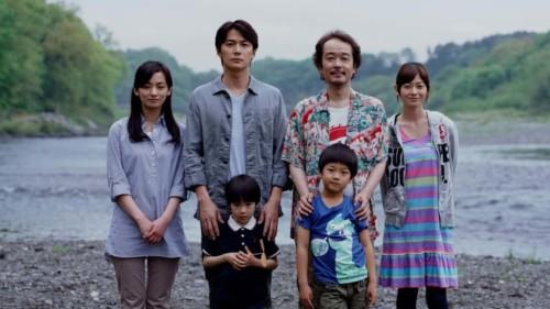 Les familles dans tel père tel fils de Kore-eda