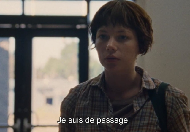 Michelle Williams dans Wendy et Lucy