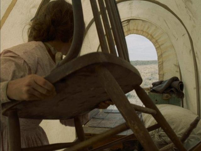 Se débarrasser d'une chaise dans Meek's Cutoff