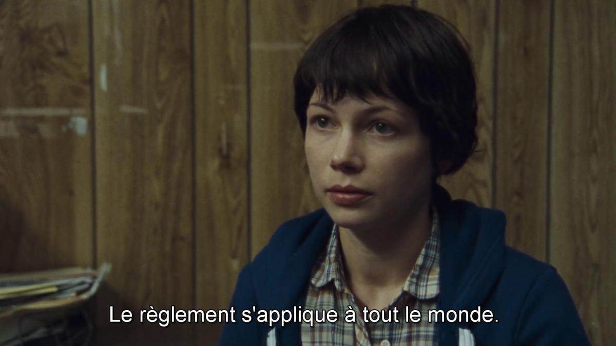 Wendy interprétée par Michelle Williams dans Wendy et Lucy