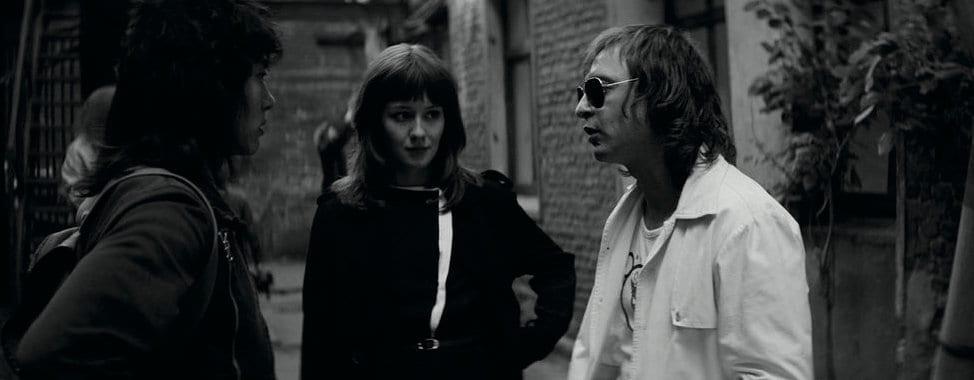 Les membres du groupe de rock dans le film Leto