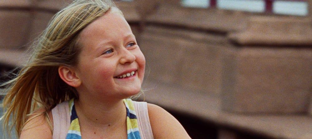 La joie d'Isaure Multrier dans le film Amanda