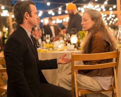 Kevin et Nora dans l'épisode final de The Leftovers