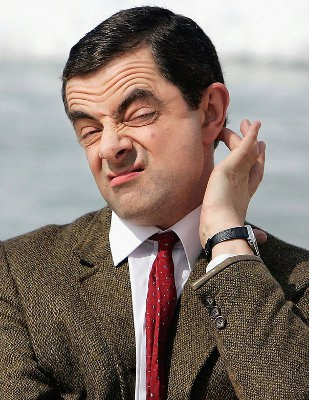 Rowan Atkinson en Mr. Bean