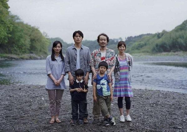 Les deux familles dans Tel père tel fils de Kore-eda