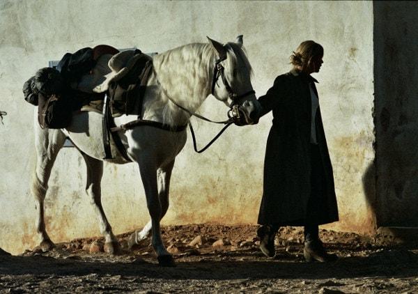 Virginie Efira et son cheval dans Continuer de Joachim Lafosse