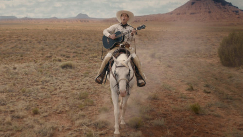 La chanson de Buster Scrugg (Tim Blake Nelson) dans La Ballade de Buster Scruggs