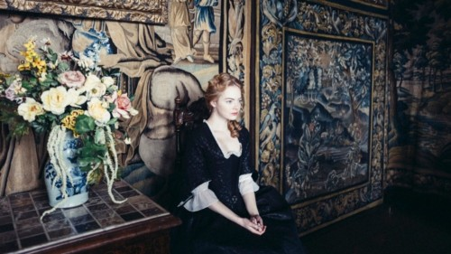 Emma Stone dans La Favorite