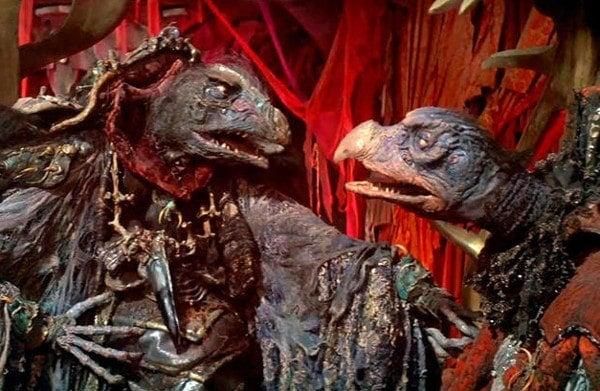 Deux marionnettes méchantes dans Dark Crystal