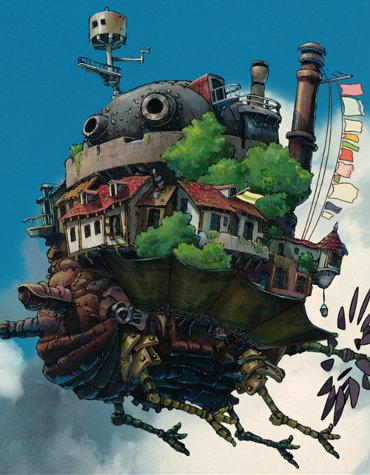 Le Château ambulant d'Hayao Miyazaki)