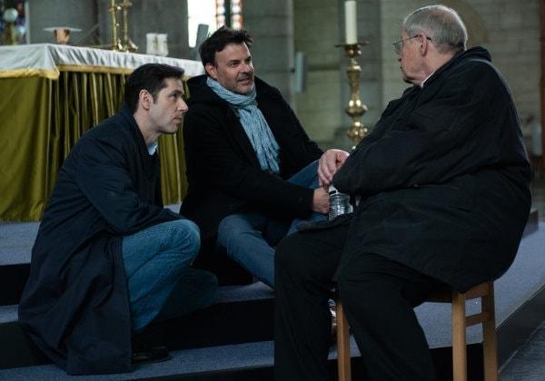 François Ozon sur le tournage de Grâce à Dieu