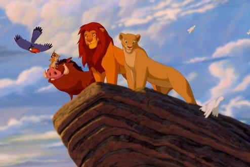 Les personnages principaux du Roi Lion