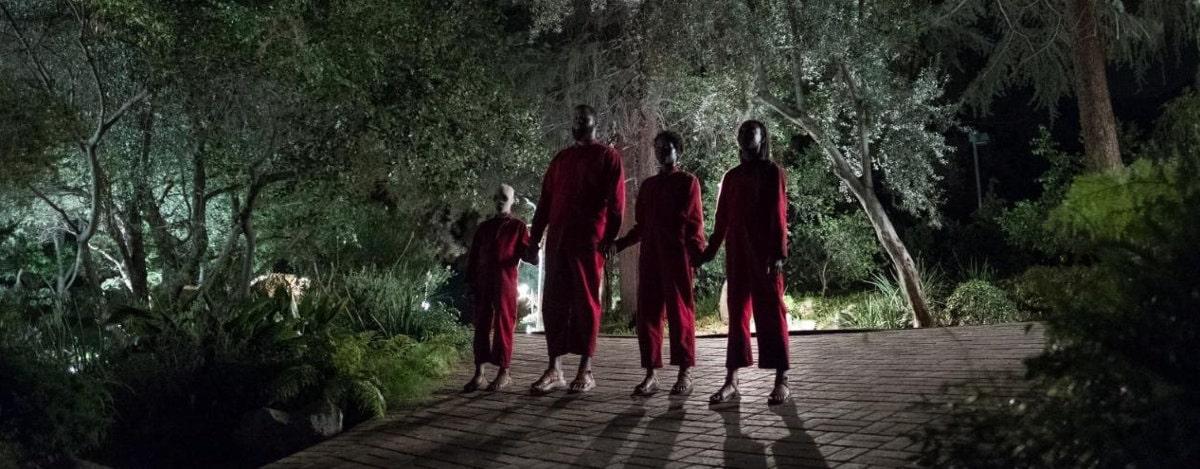 La famille en rouge dans Us de Jordan Peele