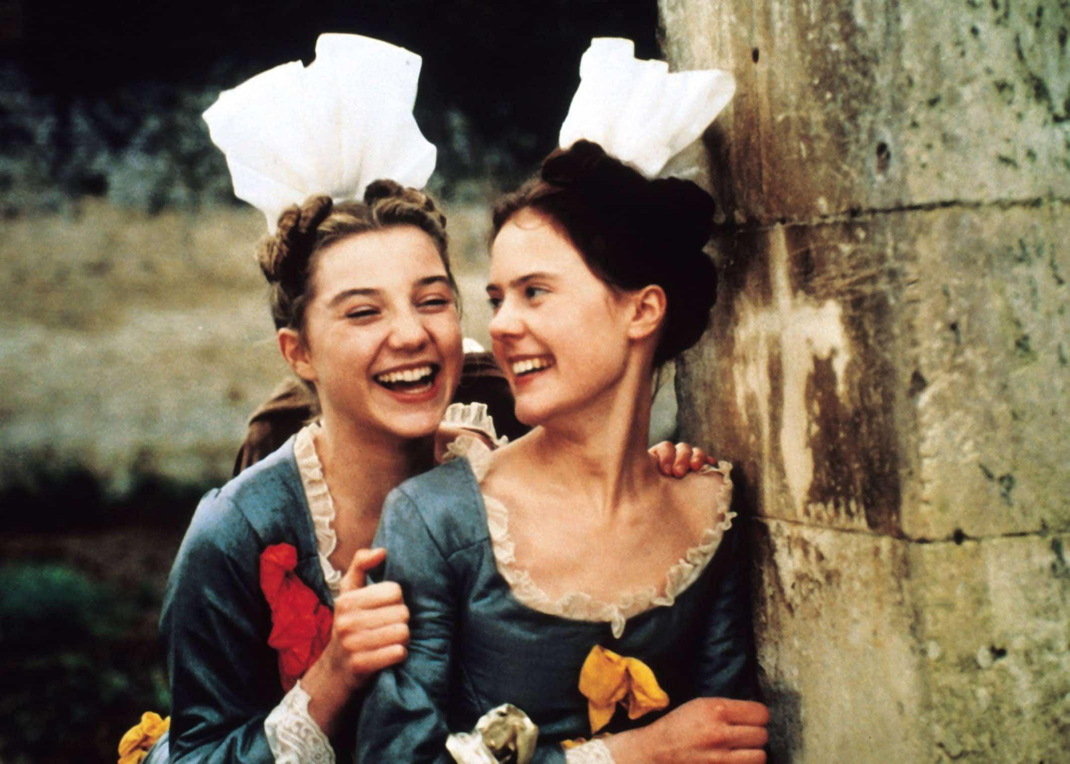 Anne de Grandcamp et Lucie de Fontenelle dans Saint-Cyr