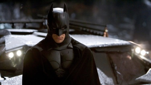 Christian Bale dans Batman Begins