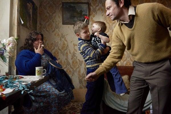 La famille dans Ray & Liz de Richard Billingham