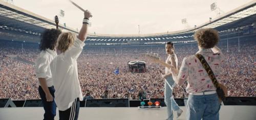 Le groupe Queen dans Bohemian Rhapsody de Bryan Singer